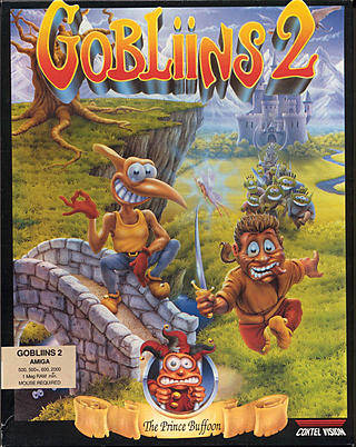 Gobliins 2: The Prince Buffoon Box Front