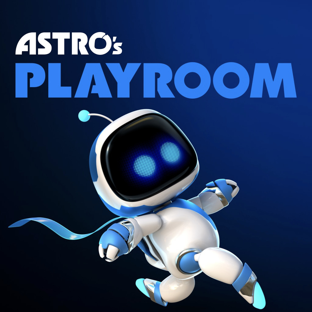 Astro's Playroom Box Front