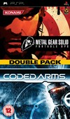Metal Gear Solid Portable Ops / Coded Arms Double Pack