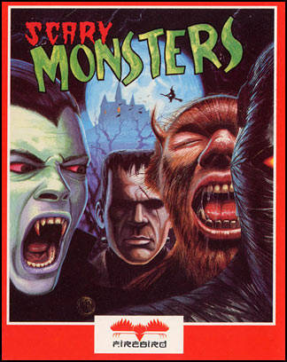 Scary Monsters Box Front