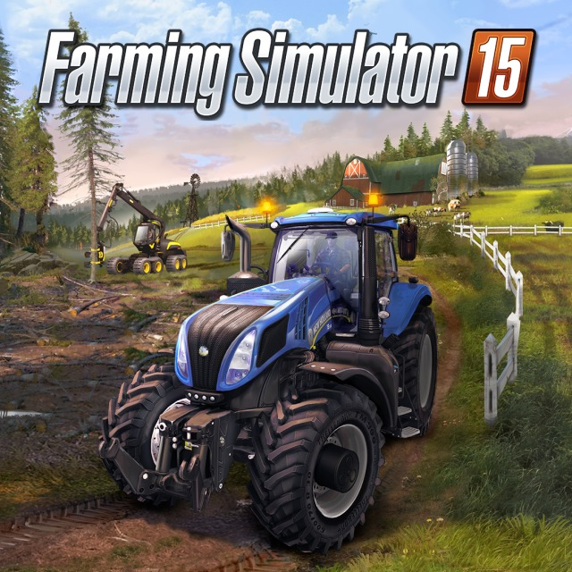 Farming Simulator 15 Box Front