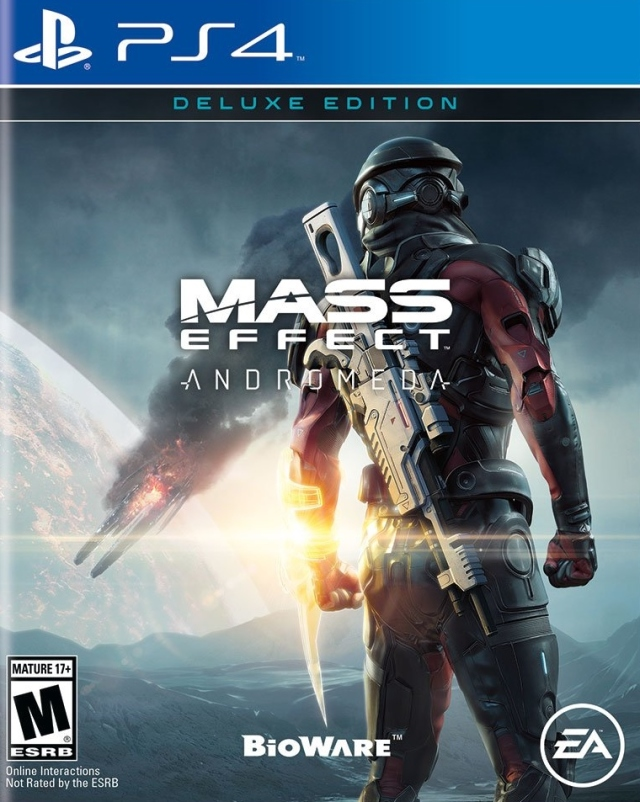Mass Effect: Andromeda (Deluxe Edition) Box Front