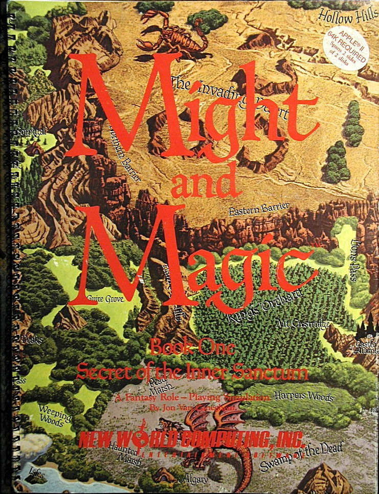 Might and Magic: Book One: Secret of the Inner Sanctum Box Front