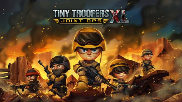 Tiny Troopers: Joint Ops XL Box Front
