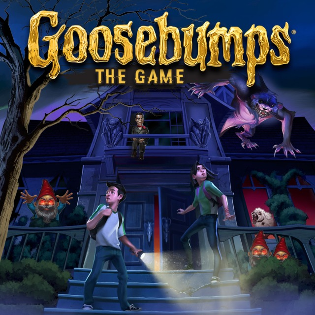 Goosebumps: The Game Box Front