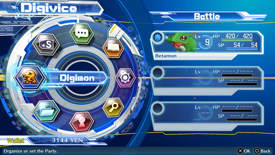 Digivice Menu Digimon Story Cyber Sleuth Hacker S Memory Walkthrough Guide Gamefaqs